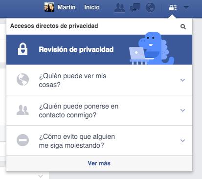 Facebook privacy checkup - unpocogeek.com