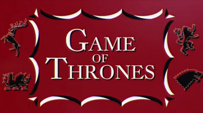Intro de Game of Thrones estilo 60's