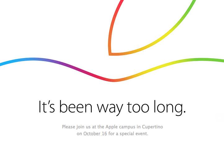 Hoy, presentación de nuevos iPad, seguí el evento en vivo