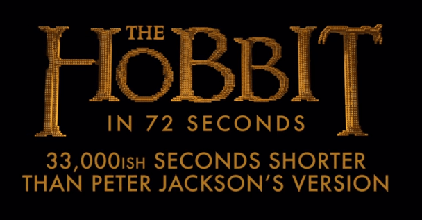 LEGO The Hobbit in 72 Seconds_unpocogeek.com