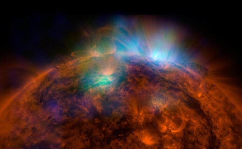 Increíble fotografía del sol tomada por el NuSTAR