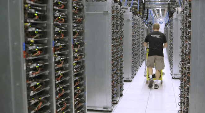Inside a Google data center_unpocogeek.com