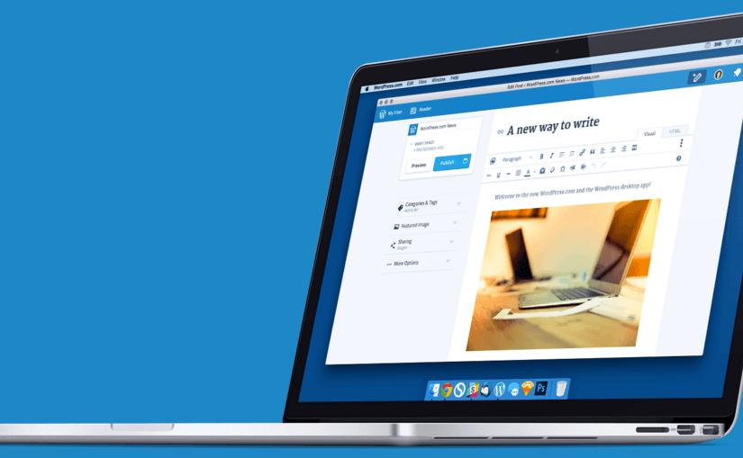 Cliente de escritorio de WordPress.com ya disponible