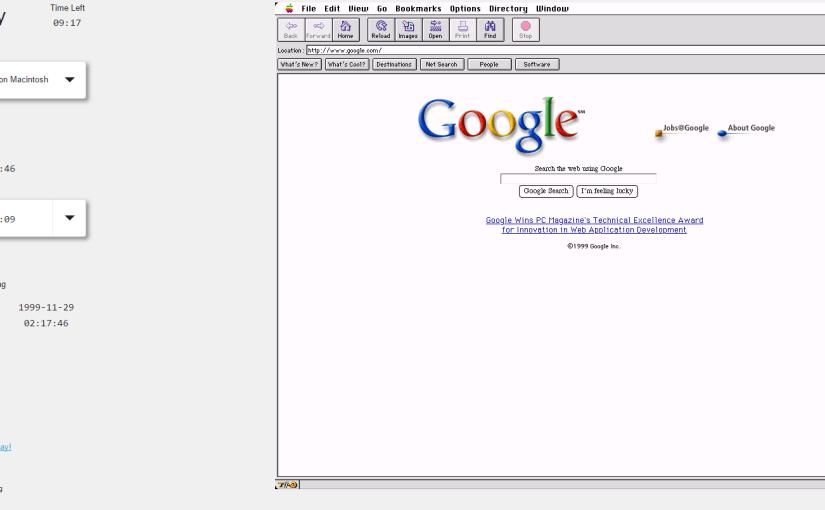 Navega internet como en los 90