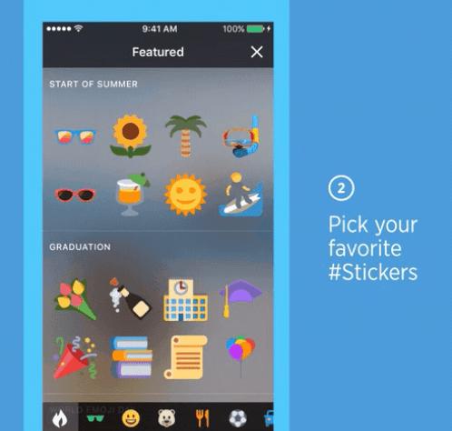 """Twitter incorporará la posibilidad de añadir """"stickers"""" a nuestras imagenes"""