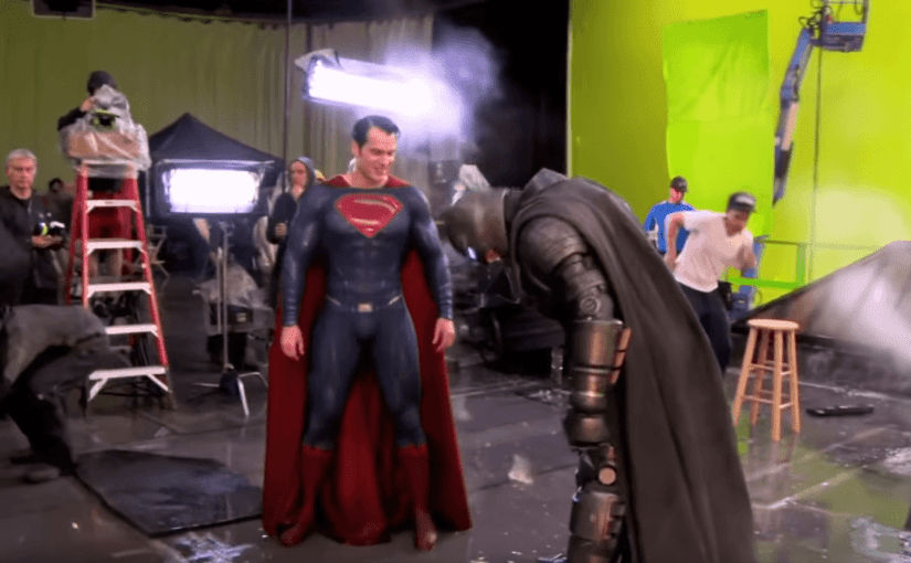 Batman v Superman detrás de escena