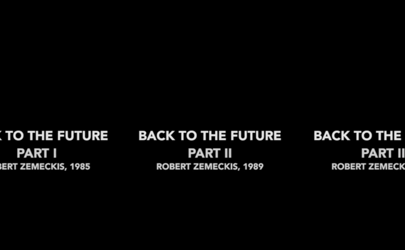 Volver al futuro, comparando escenas similares de las tres películas