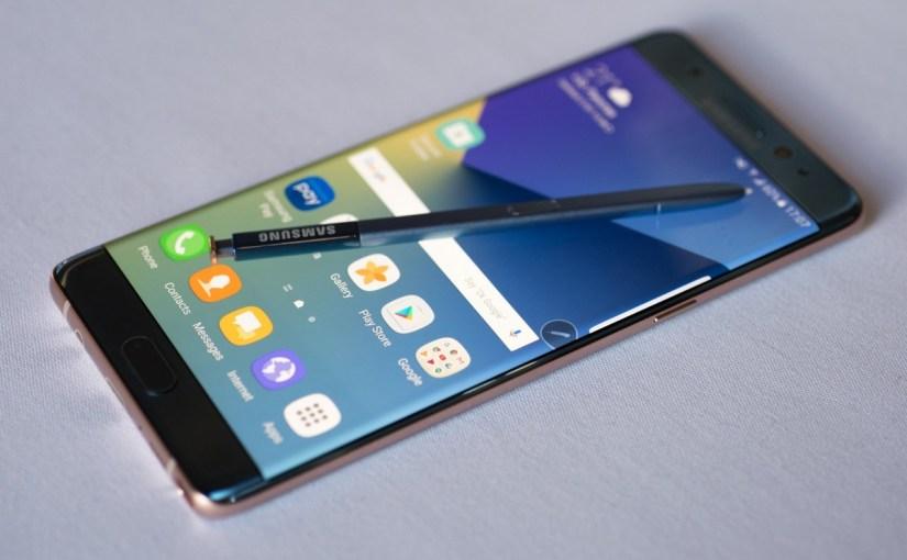 ¿Cómo distinguir un Galaxy Note 7 explosivo de uno que no?