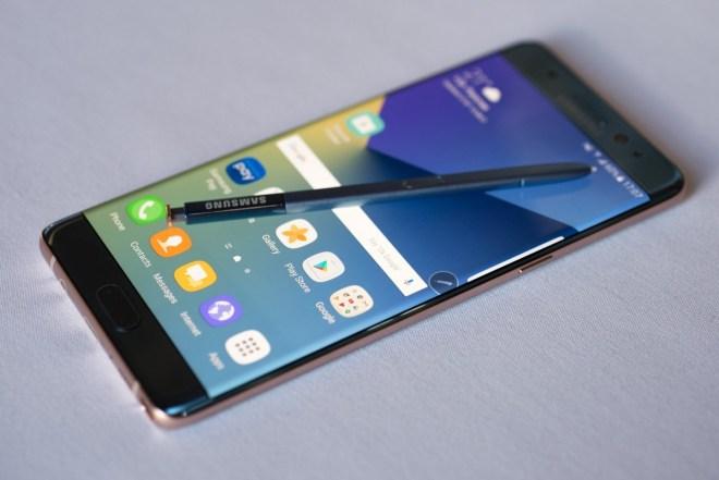 Galaxy Note 7 frente