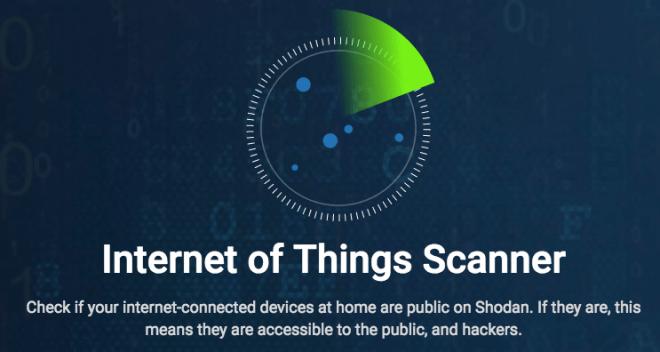 IoT escaner de seguridad web