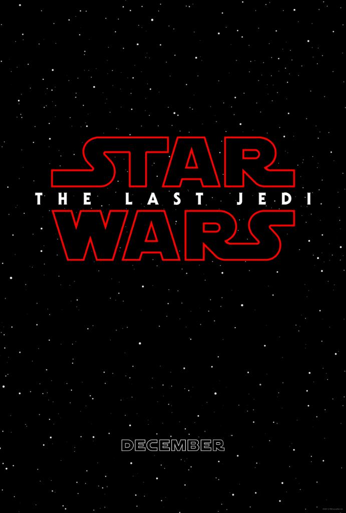 Star Wars The Last Jedi 2017 titulo