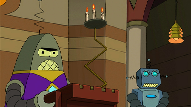 Robot sacerdote futurama