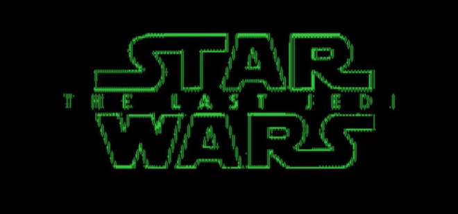 Star Wars: The Last Jedi, trailer con tecnología de 1984