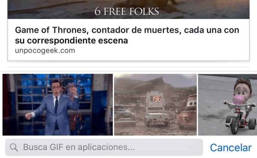 facebook gifs en comentarios