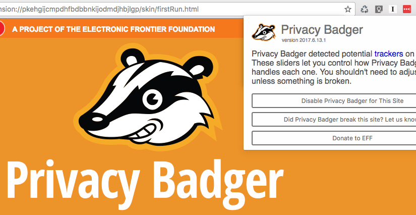 Privacy Badger 2.0, protege tu privacidad en internet