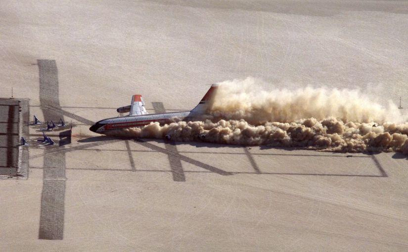 El día que la NASA estrelló un avión en nombre de la ciencia
