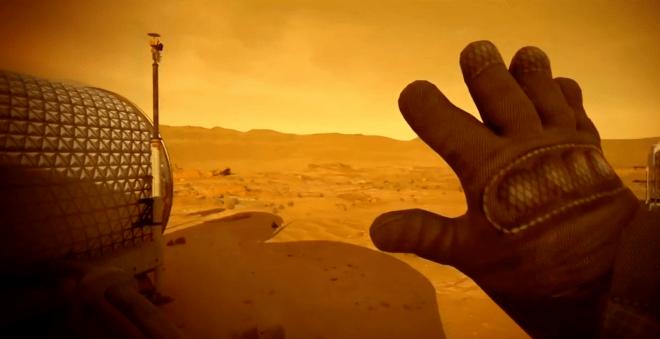 Mars 2030, realidad virtual