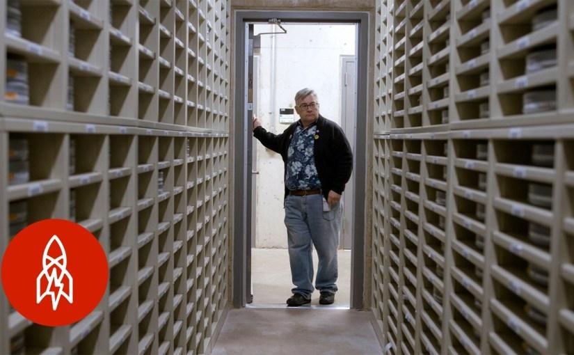 Así es el bunker que resguarda parte de nuestra historia cinematográfica