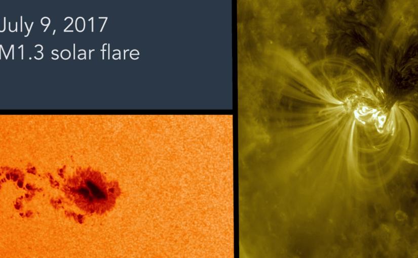 [video] Dos semanas en la vida de una mancha solar
