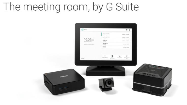 Hangouts Meet nuevo kit de hardware