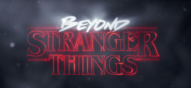 Stranger Things detrás de escena