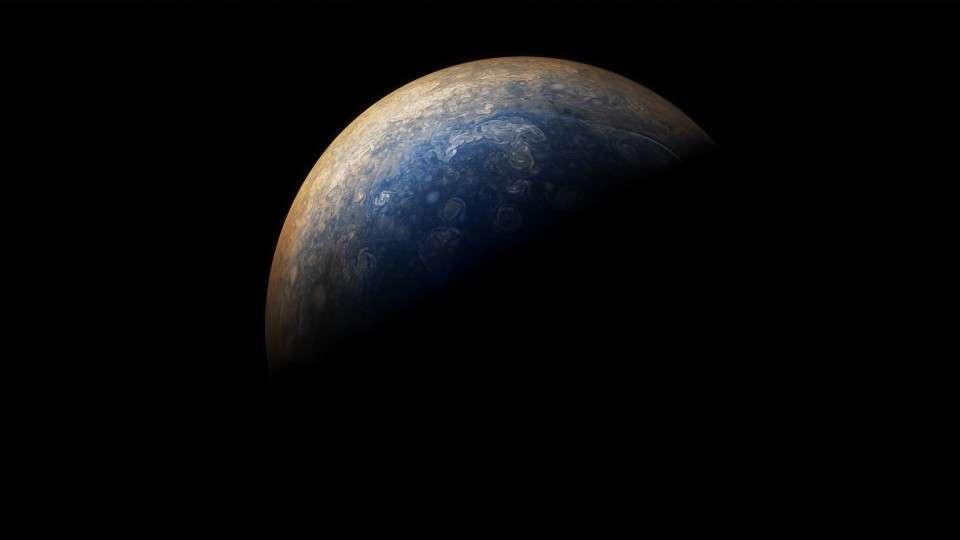 Nuevo sobrevuelo de Juno por Júpiter, nuevas y espectaculares imágenes del planeta