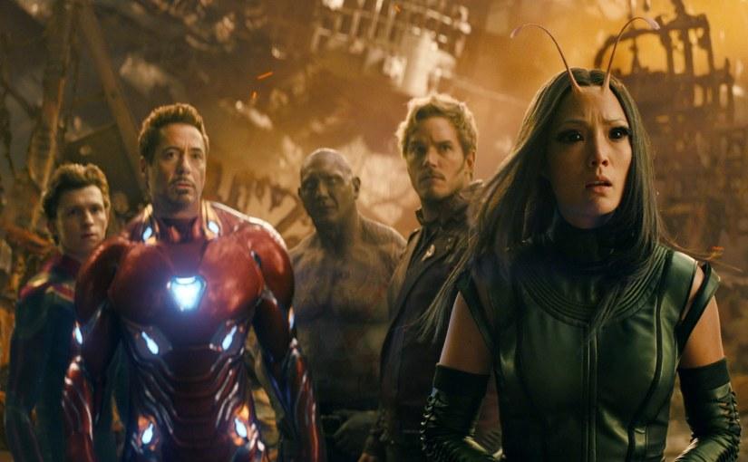 Avengers: Infinity War, con efectos especiales y sin
