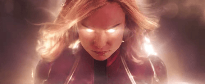 Captain Marvel, primer trailer y poster