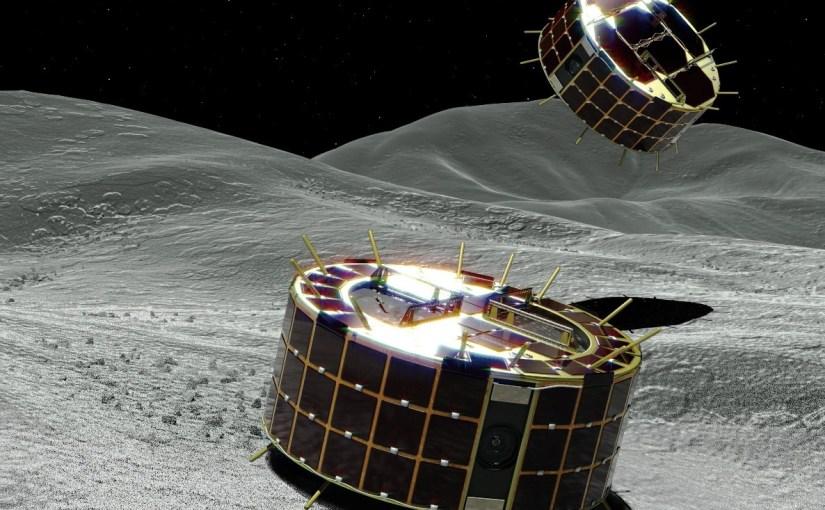 Japón aterriza dos exploradores sobre un asteroide para estudiarlo