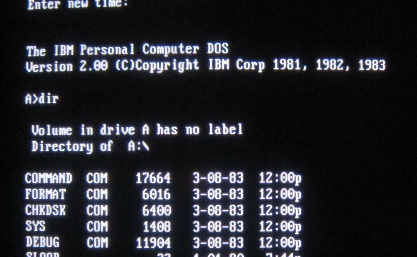 Microsoft libera en un repositorio de GitHub el código fuende de MS-DOS