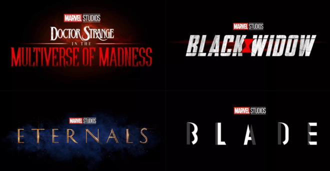 MCU new movies phase 4