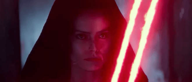Rey Sith vision Star Wars: The Rise of Skywalker - unpocogeek.com