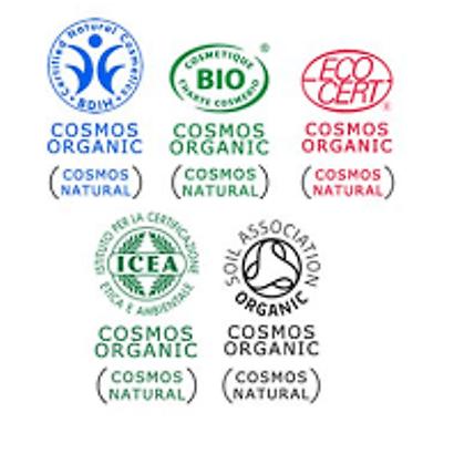 label cosmos organic standard