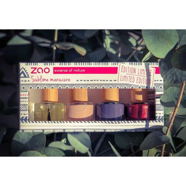 Sublime manucure-coffret soin &beauté des ongles Zao makeup