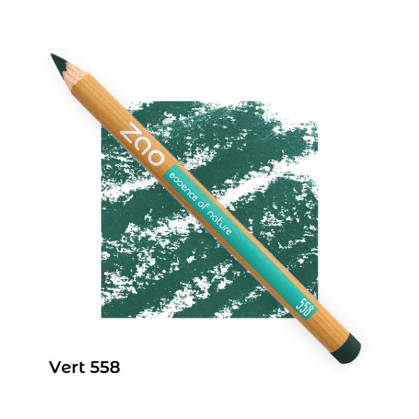 Crayon bio yeux Zao Makeup Vert 558