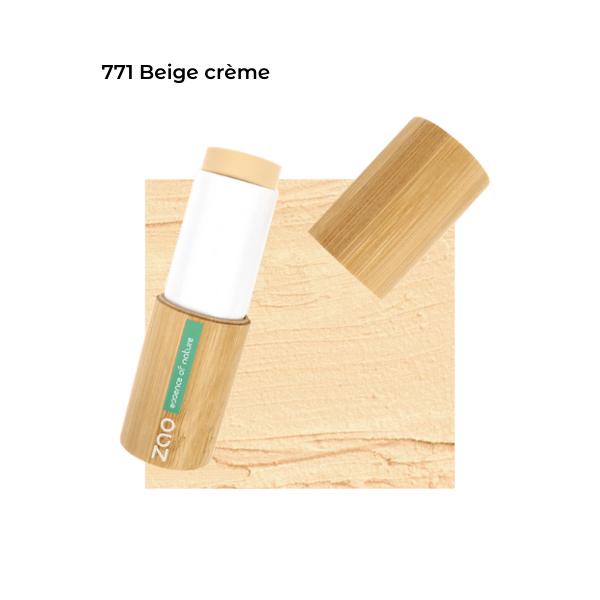 Fond de teint stick Beige Crème 101771 visu - Zao Makeup
