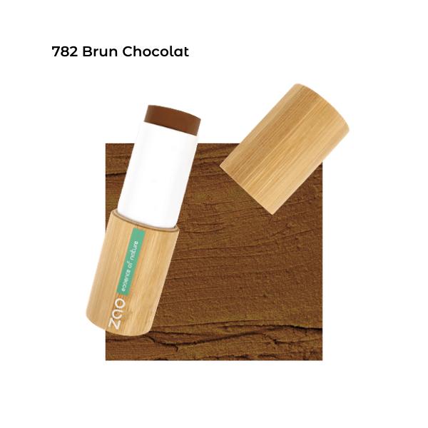 Fond de teint stick Brun Chocolat 101782 visu - Zao Makeup