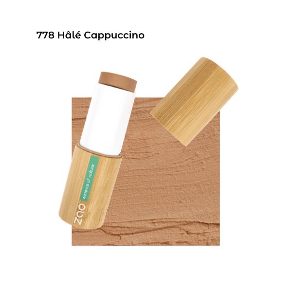 Fond de teint stick Hâlé Cappuccino101778 visu - Zao Makeup