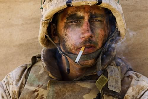 Anyone Want to Tell This 20 Year Old Marine He Can't Smoke Until He is 21?