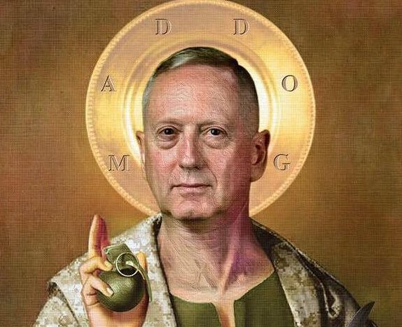 How Is a President General James Mattis Looking to You Now America?