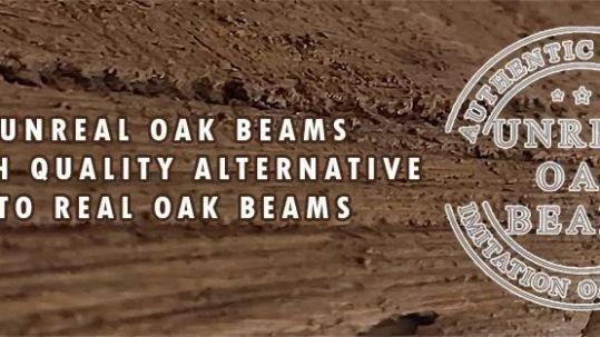 Faux Oak Beams