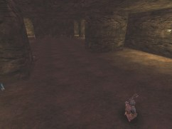 Screenshot of the escape area below the boss room in the Monster Hunt map, Inscrutable Castle Redone.