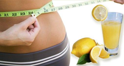 Perdre du poids avec du citron