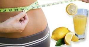 perdre du poids avec le citron