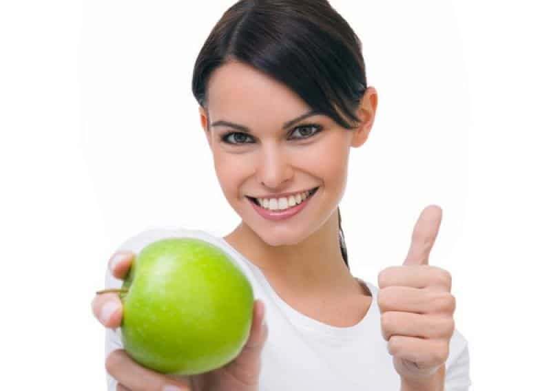 La pomme est un coupe faim naturel