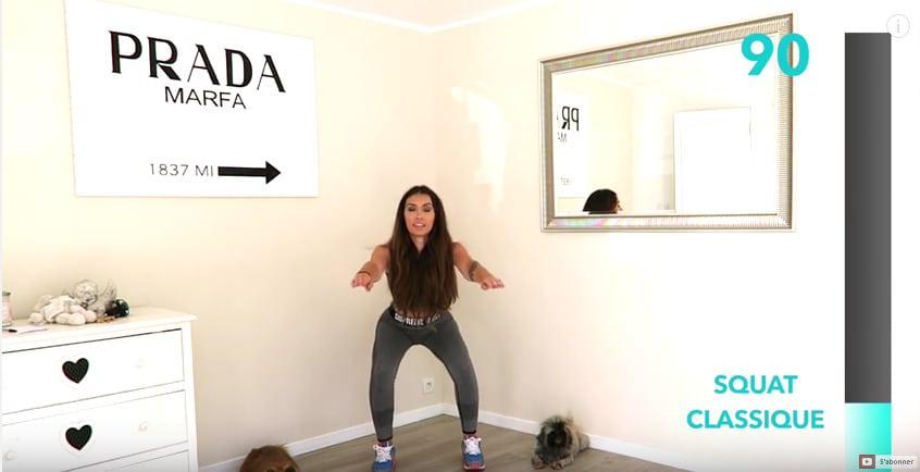 Challenge 250 squats pour des fesses bombées
