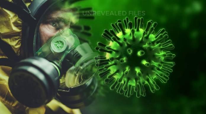 Artistic illustration of Dark and Conspiracy sides of Coronavirus Pandemic