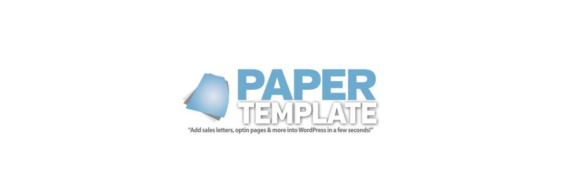Paper Template
