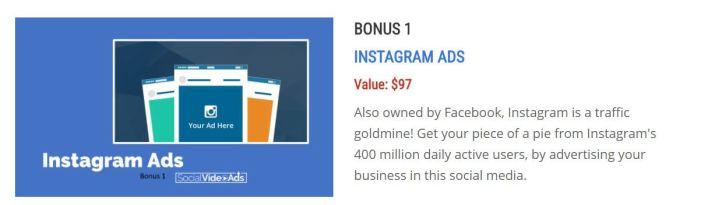 Social Video Ads Bonus
