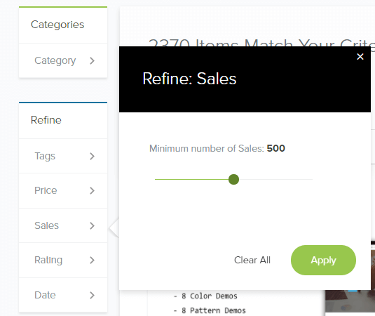 MOJO Marketplace Review Sales